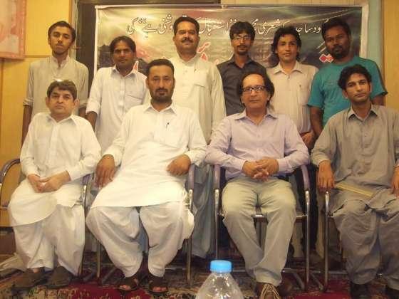 Mehmood Sajid Kay Sheri Majmooay Ki Taqreb