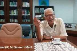 Ankahi Dastanain - Colonel Retired Saleem Malik