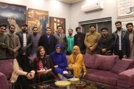 Aik Shaam Mian Iqbal Salahuddin Or KHUDI K Naam