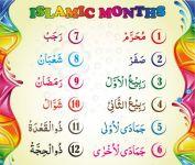 Islamic Months Name - List And Details Of Hijri Calendar Months