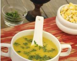 Corn Soup And Makai Soup