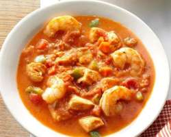 Shrimp Soup And Seafood Soup