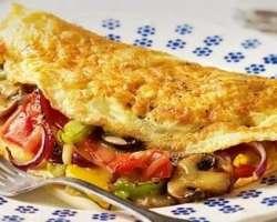 Omelette And Egg