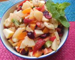 Fruit Chaat, Fruit And Dry Fruits Dishes