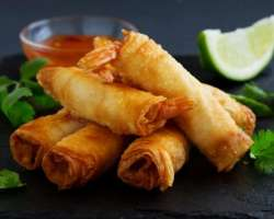 Rolls And Spring Rolls
