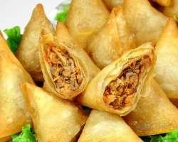 Chicken Samosa, Chicken Rolls, Chicken Pakora