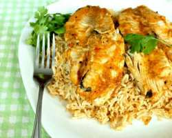 Fish Pulao And Fish With Rice