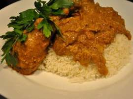 Jhat Pat Korma With Rice