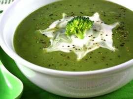 Green Peas Creamy Soup