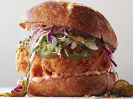 Deep Fry Chicken Sandwich