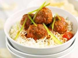 Meatballs Rice