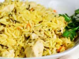 Kashmiri Chicken And Cardamom Pulao