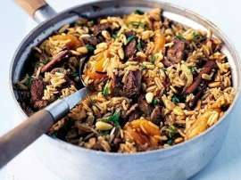 Turkish Meat Rice