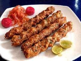 Fried Dhaga Kabab
