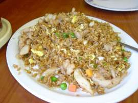 Singapuri Chicken Fried Rice