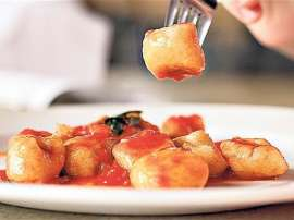 Baby Potato With Red Sauce