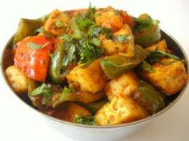 Fried Paneer Mirch