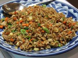 Kaleji Fried Vegetable Rice