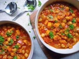 Bulgarian Chana Soup