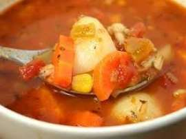Barley Soup And Grapefruit