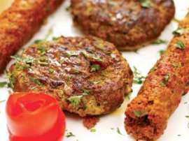 Egg Vegetable Kabab
