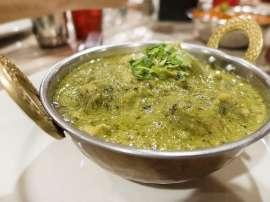 Chicken Hara Masala