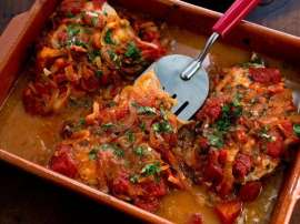 Fish With Tomato Sauce