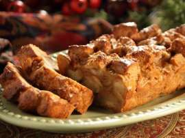 Egg And Bread Pudding