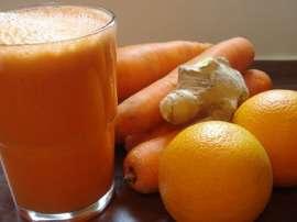 Gajar Aur Maltay Ka Juice