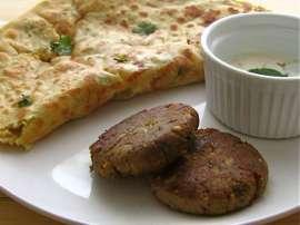 Peshawari Kabab Paratha