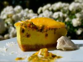 Mango And Lemon Mousse