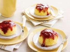 Jam Pudding
