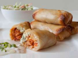 Spicy Chatni Bhare Roll
