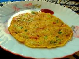 Besan Ka Omelette