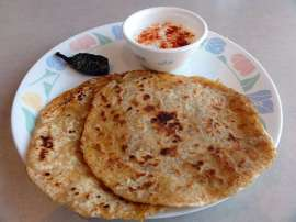 Mooli Ki Roti