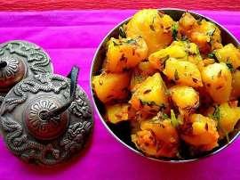 Chatkhara Aloo