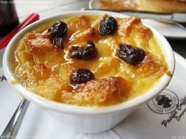 Coffee Bread And Butter Pudding