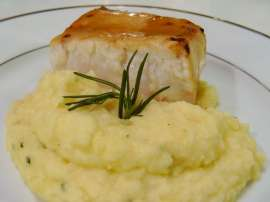 Fish With Mash Potato