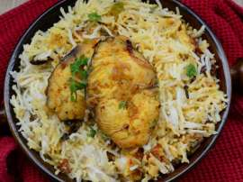 Machli Masala With Rice