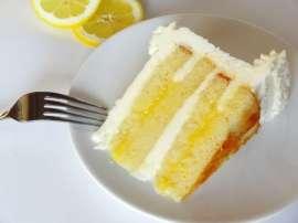 Khushk Mewa Aur Lemon Ka Cake