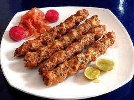 Tasty Fish Kebab