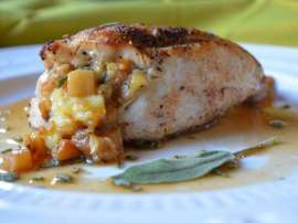 Chicken Apple Stuffed