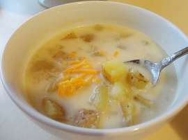 Potato Creamy Soup