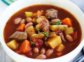 Beef Aur Palak Soup