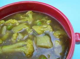 Beef Aur Gobi Soup