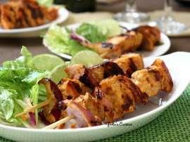 Smoked Fish Kabab