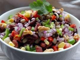 Lobia Salad