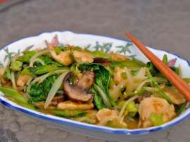 Chinese Chicken Vegetable Chop Soy