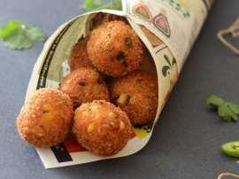 Paneer Potato And Corn Balls