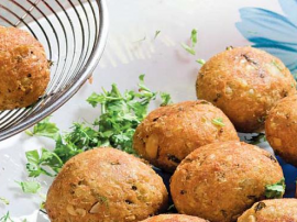 Paneer Balls Barbeque Sauce
